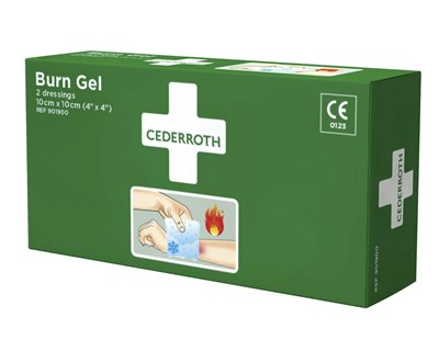 Cederroth Burn Gel Dressing 10x10 cm